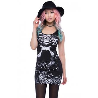 šaty dámské IRON FIST - Garden Secrets - Black, IRON FIST