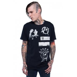 tričko pánské IRON FIST - Libertarian - Black, IRON FIST