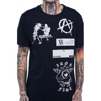 tričko pánské IRON FIST - Libertarian - Black