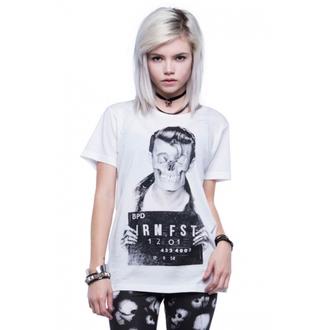 tričko dámské IRON FIST - Dead Baby - White - IFLSST005