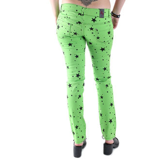 kalhoty dámské 3RDAND56th - Lime, 3RDAND56th