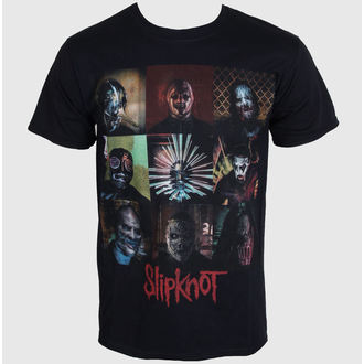 tričko pánské Slipknot - Blocks - Black - ROCK OFF - SKTS14MB