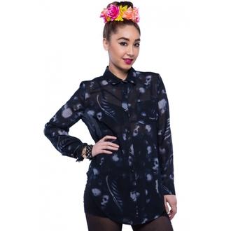 košile dámská IRON FIST - Infidelity - Black - IFLFTP068