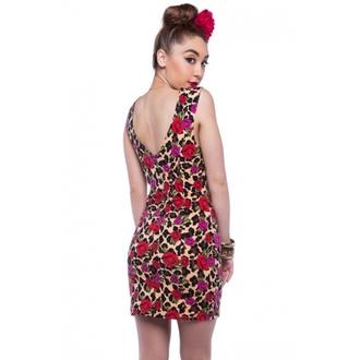 šaty dámské IRON FIST - Leopard Garden - Leopard