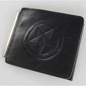 peněženka Baphomet - Black, JM LEATHER
