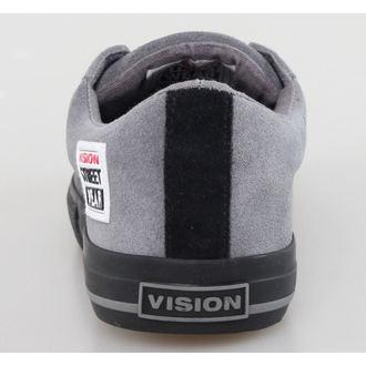 boty pánské VISION - Suede LO - Charcoal/Black