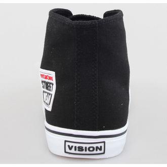 boty pánské VISION - Canvas HI - Black/White