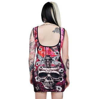 šaty dámské TOO FAST - Moth Skull