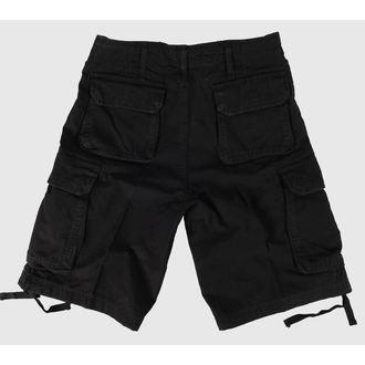 kraťasy pánské Vintage-style - Black, BOOTS & BRACES