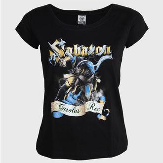 tričko dámské Sabaton - Carolus Rex - CARTON - KD_389
