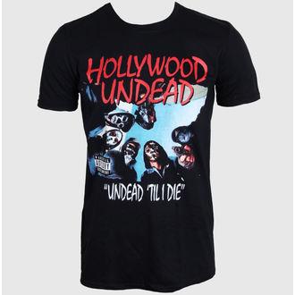 tričko pánské Hollywood Undead - Til I Die - BLK - PLASTIC HEAD - PH8990