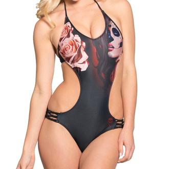 plavky dámské SULLEN - Muerta Rose - Monokiny