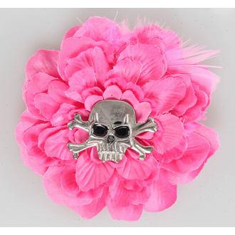 sponka do vlasů Pink Skull - NS162