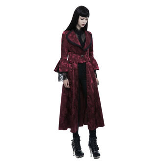 kabát dámský PUNK RAVE - Ruby Gothic, PUNK RAVE