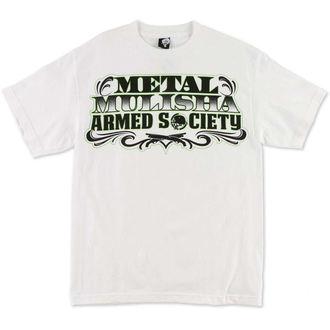tričko pánské METAL MULISHA - Paid - WHT