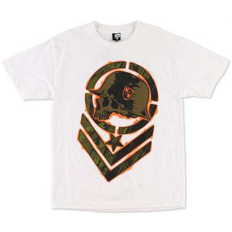 tričko pánské METAL MULISHA - Helter Skelter - WHT