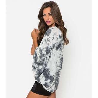 košile dámská METAL MULISHA - Not Enoughi Kimono - BLK