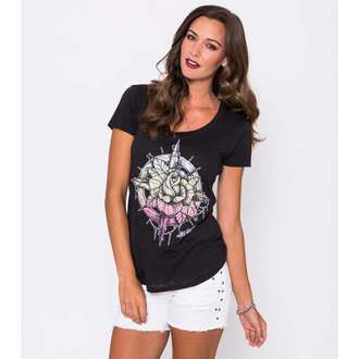 tričko dámské METAL MULISHA - Compass Rose Scop, METAL MULISHA