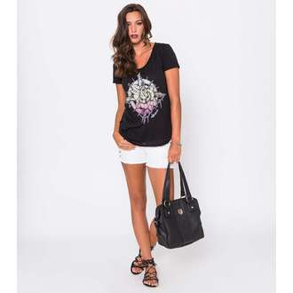 tričko dámské METAL MULISHA - Compass Rose Scop