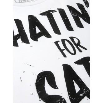 tričko dámské (top) DISTURBIA - Hatin - White, DISTURBIA