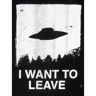 tričko pánské DISTURBIA - I Want To Leave - BLK