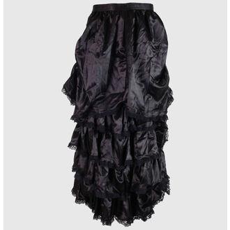sukně dámská Saten - Black - ZSKIRT6