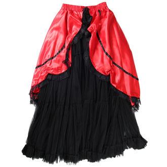 sukně dámská Buvs - Black/Red - 9Red