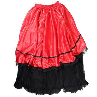 sukně dámská Buvs - Black/Red