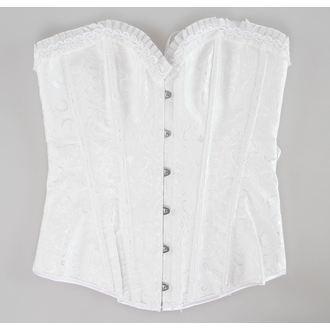 korzet dámský DRACULA CLOTHING - White - DCL111