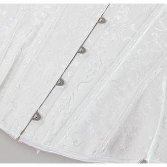 korzet dámský DRACULA CLOTHING - White