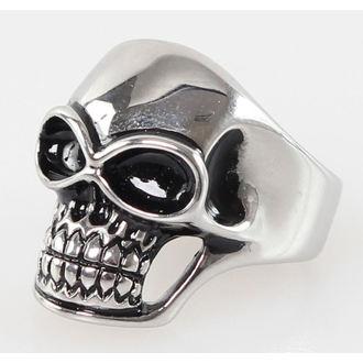 prsten Skull - R021