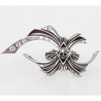 prsten ALCHEMY GOTHIC - Skull - R177