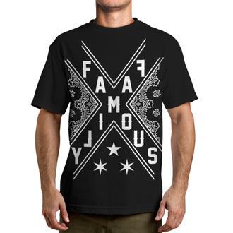 tričko pánské FAMOUS STARS & STRAPS - Con - Black - FM01150050