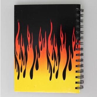 poznámkový blok Flames