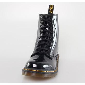 boty DR. MARTENS - 8 dírkové - 1460 - W BLACK PATENT LAMPER, Dr. Martens