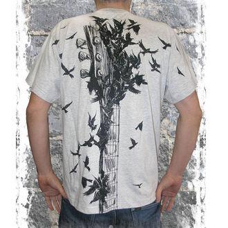 tričko pánské ALISTAR - Gibson&Crows - GREY ALI112