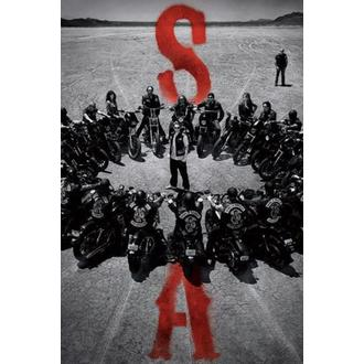 plakát Sons Of Anarchy - Circle - PYRAMID POSTERS - PP33426