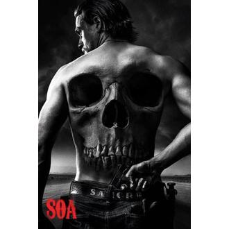 plakát Sons Of Anarchy - Skull - PYRAMID POSTERS - PP33463