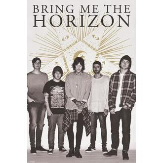 plakát Bring Me The Horizon - Star - PYRAMID POSTERS, PYRAMID POSTERS, Bring Me The Horizon
