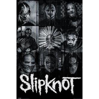 plakát Slipknot - Masks - PYRAMID POSTERS