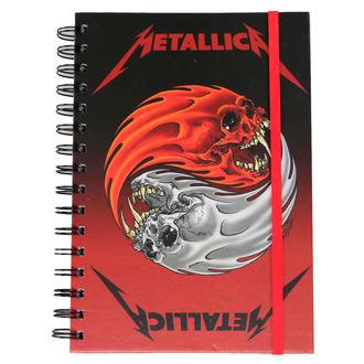 poznámkový blok Metallica - Yin And Yang - PYRAMID POSTERS, PYRAMID POSTERS, Metallica
