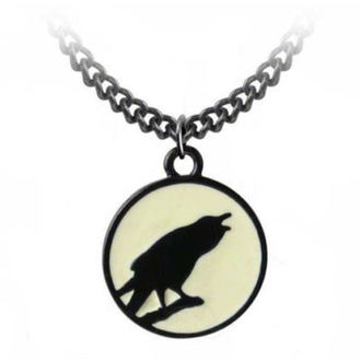 obojek ALCHEMY GOTHIC - Caw At The Moon - P735