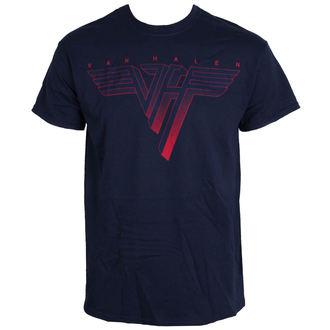 tričko pánské VAN HALEN - Classic Logo - BLUE - LIVE NATION, LIVE NATION, Van Halen
