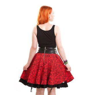 sukně dámská VIXXSIN - Everwake - Red Rose