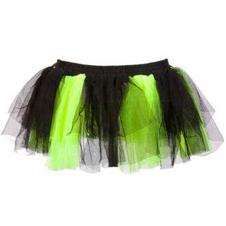 sukně dámská POIZEN INDUSTRIES - Razer Tutu - Blk/N.Green
