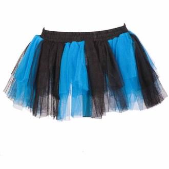 sukně dámská POIZEN INDUSTRIES - Razer tutu - Blk/Blue