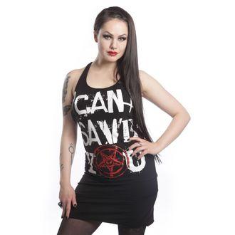 šaty dámské HEARTLESS - No Saver - Black