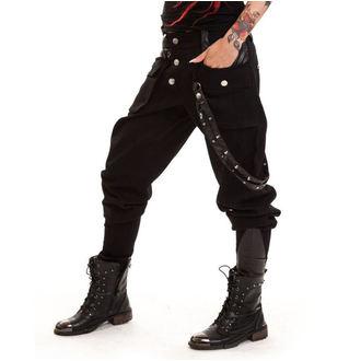 kalhoty dámské VIXXSIN - Grain - Black - POI131