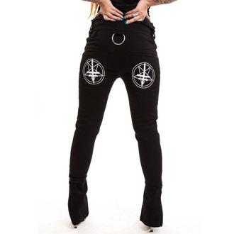 kalhoty dámské HEARTLESS - Occult - Black, HEARTLESS