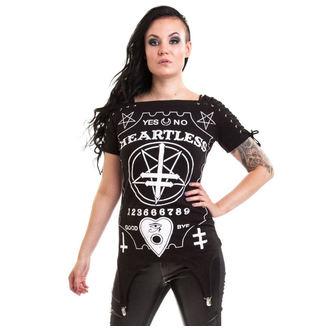 tričko dámské (tunika) HEARTLESS - Regret - Black